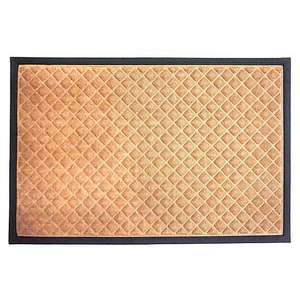 Diamond Textured Doormat £2 (Free Collection) @ Dunelm