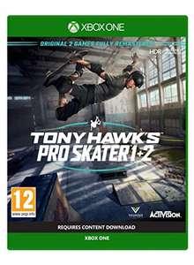 Tony Hawk's Pro Skater 1 + 2 (Xbox one) £14.99 (Prime) / £17.98 (Non-prime) Delivered @ Amazon