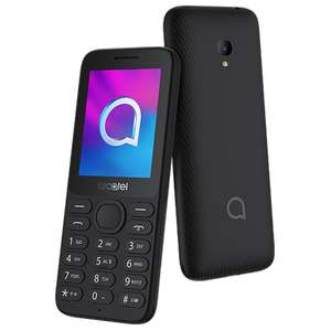 Alcatel 3080 Volcano Black 4G Mobile Phone - £15 Delivered @ O2 Shop