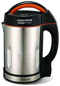 Morphy Richards 48822 Soup maker, Stainless Steel, 1000 W, 1.6 liters £25.80 Amazon