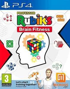 Professor Rubik's Brain Fitness (PS4) - £8.33 (+£2.99 Non Prime) @ Amazon