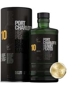 Port Charlotte 10 Year Old Heavily Peated Single Malt Islay Scotch Whisky - 70cl Bruichladdich £32.09 Amazon