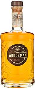 The Woodsman Blended Scotch Whisky, 70 cl £10.73 (+£4.4 non-prime) @ Amazon
