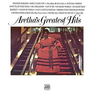 Greatest Hits [VINYL] - Aretha Franklin - £11.50 (+£2.99 Non-Prime) @ Amazon