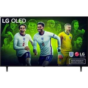 "LG OLED55A16LA 55"" Smart 4K Ultra HD OLED TV +FN4 Wireless Earphones £987 with code (UK Mainland) @ AO"