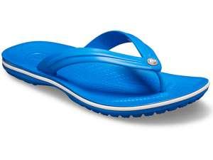 Crocs Unisex Adult Crocband Flip Flop Size 9 Bright Cobalt/white £4.83 (+£4.49 non-prime) @ Amazon