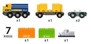 BRIO World - Three Wagon Cargo Train - £10.32 (+£4.49 Non-Prime) @ Amazon