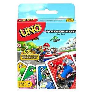 UNO Mario Kart Card Game with 112 Cards £5.61 (+£4.49 Non Prime) @ Amazon