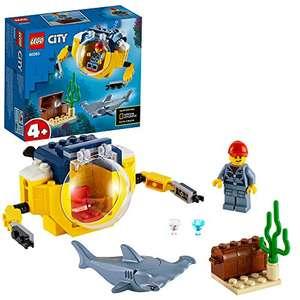 LEGO 60263 City Oceans Mini-Submarine Deep Sea Underwater Set £6 (+£4.49 Non Prime) @ Amazon