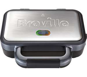 BREVILLE VST041 Deep Fill Sandwich Toaster - Graphite & Stainless Steel - £22.99 Delivered @ Currys PC World