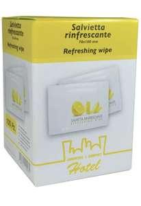Anonima MTP100-SRL70 Multipack refreshing towel Lemon (Pack of 100) £2.03 (+£4.49 Non Prime) @ Amazon