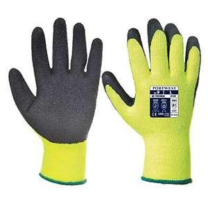 Portwest Thermal Grip Gloves,Yellow, XL - £1.24 Prime (+£4.49 Non Prime) @ Amazon
