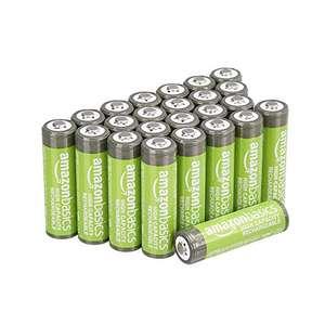 Amazon Basics AA High-Capacity Rechargeable Batteries 2400mAh (24-Pack) £20.09 @ Amazon