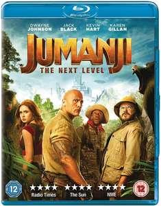 Jumanji: The Next Level (Blu-ray) - £3.80 Delivered @ Rarewaves