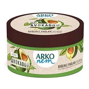 Arko Nem Oil Cream Avocado, 150ml - £1.99 (+£4.49 Non Prime) @ Amazon