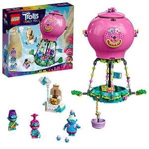 LEGO Trolls 41252 World Tour Poppy's Hot Air Balloon Adventure £17.84 (Prime) + £4.49 (non Prime) at Amazon
