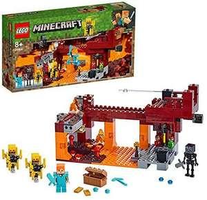 LEGO Minecraft 21154 The Blaze Bridge Building Set £26.29 (UK Mainland) Sold by Amazon EU @ Amazon