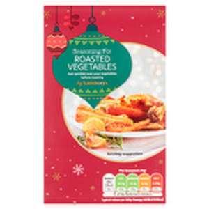 Seasoning for Roasted Vegetables 52g - 10p at Sainsburys Letchworth