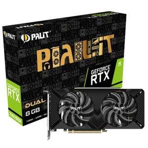 Palit GeForce RTX 2060 Dual 6 GB GDDR6 Graphics Card £489.99 @ Amazon