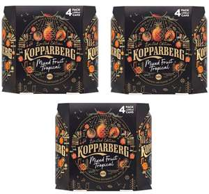 3 x Koppaberg Mixed Fruit Tropical 4 x 330ml Packs (12 Cans Total) - £5 @ Morrisons