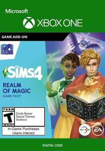The Sims 4: Realm of Magic (DLC) XBOX LIVE Key ARGENTINA - £7.18 @ Eneba / argentinavpngames