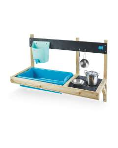 TP Mud Kitchen Accessory toy (including frame, pans, water butt and sink) for £38.94 delivered @ Aldi