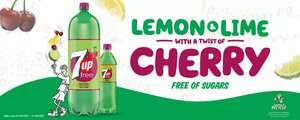 7up/7up Free/7up Free Cherry 2 Litre Bottles are £1 @ One Stop Convenience Stores