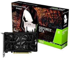 Gainward GTX 1650 D6 Ghost Graphics Card (4GB DDR6 version) £153.72 delivered at Amazon