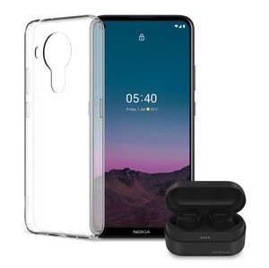 Nokia 5.4 Smartphone / Mobile Phone + Free Nokia Power Earbuds Lite & Nokia 5.4 Clear Case - £149.99 @ Nokia Shop