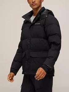 Columbia Rockfall™ Down Men's Water Resistant Jacket, Black, Free C&C £135 at John Lewis & Partners