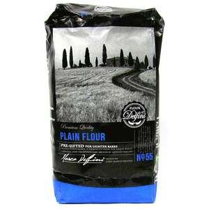 1KG Delfini Plain Flour - 9p @ Farmfoods Sutton