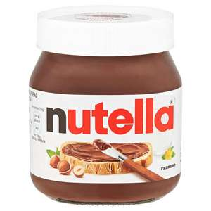 Nutella Hazelnut and Chocolate Spread 350g £2 in Iceland