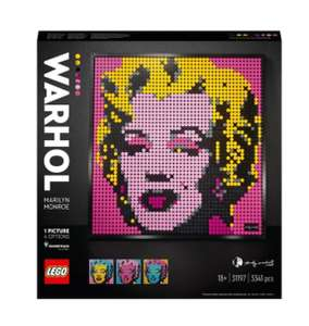 LEGO ART 31197 Andy Warhol £70 @ Smyths Toys click and collect - Selected stores