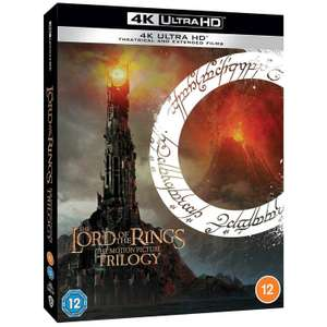 Lord of the Rings 4K trilogy - £55.19 with code @ the entertainment store ebay
