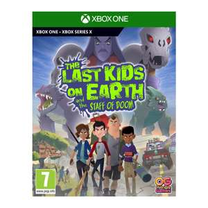 The Last Kids On Earth And The Staff Of Doom (Xbox One/series/PS) - £28.95 delivered @ The Game Collection