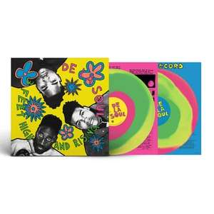 3 Feet High and Rising [VINYL] - Rough Trade / Tommy Boy Edition, De La Soul, LPx2 £39.99 + £5.41 Delivery @ Rough Trade