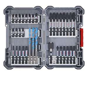 Bosch Professional 2607017463 35-Piece Drill Bit Set (Pick and Click, Accessories for Impact Drivers, with Bits) £27.45 on Amazon