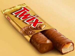 Twix Twin 50g Chocolate Bars are 5 for £1 @ B&M Middleton