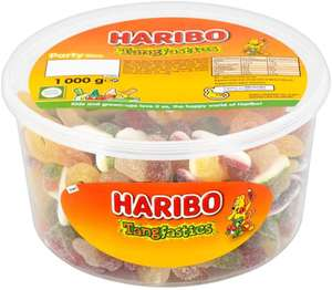 Haribo Tangfastics 1kg sweets party tub - £4.37 @ Amazon (£4.49 p&p non prime) £3.71/£4.15 S&S