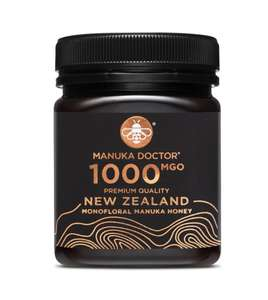 Manuka Doctor Max Strength 1000 MGO Pure New Zealand Honey - 250mg £60 at Manuka Doctor