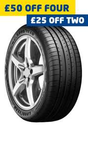 4 x 225/45/17 Goodyear Eagle F1 Asymmetric 5's fitted - £264.36 at ATS Euromaster