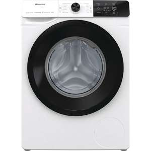Hisense WFGE10141VM 10Kg Washing Machine 1400rpm, White (B Rated) - £324 with code (+ possible £50 cashback) delivered at AO (UK Mainland)