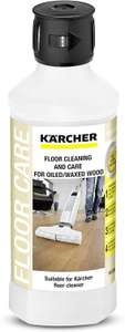 Kärcher Oiled/Waxed Wooden Floor Cleaning Detergent for Hard Floor Cleaners - £2.64 (Prime) + £4.49 (non Prime) at Amazon