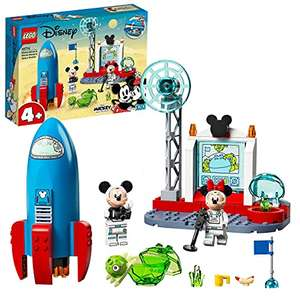 LEGO Disney Mickey Mouse & Minnie Mouse's Space Rocket - 10774 £12.56 + £4.49 NP at Amazon
