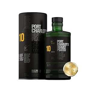 Bruichladdich Port Charlotte 10 YO single malt whiskey £42.89 / £38.60 subscribe & save @ Amazon