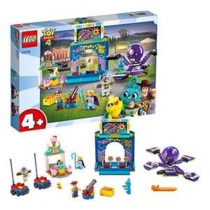 Juniors LEGO 10770 4+ Toy Story 4 Buzz and Woody's Carnival Mania with Buzz Lightyear and Woody Minifigures £28.41 at Amazon