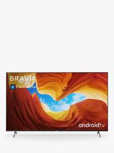 Sony Bravia KE55XH9005 (2020) LED HDR 4K Ultra HD Smart Android TV - display model, £599 at John Lewis with 5 year warranty