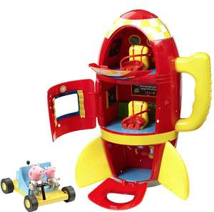 Peppa Pig Spaceship Adventure Playset with Moon Buggy £10.75 prime / £15.24 non prime @ Amazon