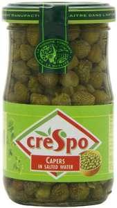 6 Pack Crespo Capers 198g - £1.91 (+£4.49 non Prime) @ Amazon