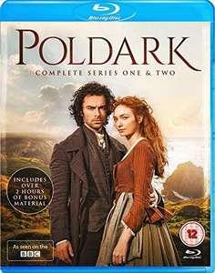 Poldark Series 1-2 Blu Ray £2.89 delivered @ Rarewaves
